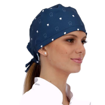 Gorro Bandana Teeth - Azul Marinho - FUN WORK