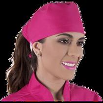 Gorro Bandana Gabardine - Pink - FUN WORK