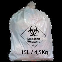 Saco para Lixo Hospitalar - 15L/4,5Kg - RAVA