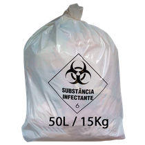 Saco para Lixo Hospitalar - 50L/15Kg - RAVA