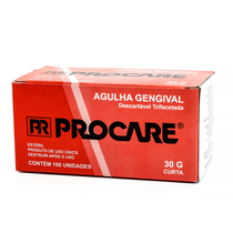 Agulha Gengival 30g curta - PROCARE