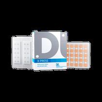 Agulhas para Acupuntura Auricular X Press - Micropore Quadrado 0,18 x 1,4mm - DUX