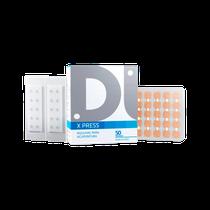 Agulhas para Acupuntura Auricular X Press - Micropore Quadrado 0,18 x 1,8mm - DUX