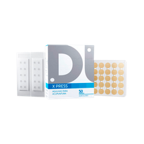 Agulhas para Acupuntura Auricular X Press - Esparadrapo Redondo 0,18 x 1,4mm - DUX