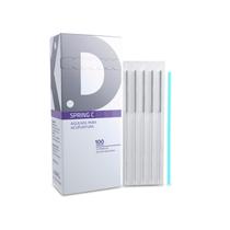 Agulhas Individuais Especiais para Acupuntura Springer C 0,30 x 90mm - DUX