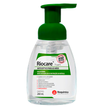 Álcool Antisséptico Riocare Foam - 260ml - RIOQUÍMICA
