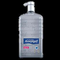 Álcool Gel Asseptgel 70% Cristal com Válvula 1,7Kg - START QUÍMICA