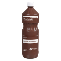 Álcool Iodado 0,1% 1L - RIOQUÍMICA