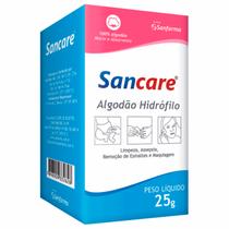 Algodão Hidrófilo 25g - SANCARE