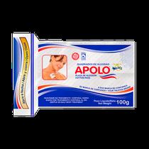 Algodão Quadrado com ZipLock 100g - APOLO