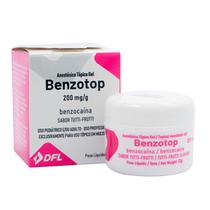 Anestésico Benzotop - Tutti-Frutti - NOVA DFL
