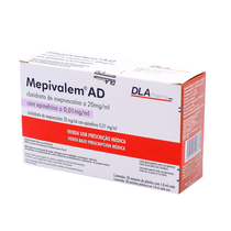 Anestésico Mepivalem AD - DLA PHARMA