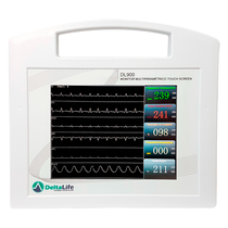 Aparelho Veterinário Multiparâmetro DL900 Touch Screen - DELTA LIFE