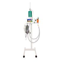 Aparelho Veterinário para Anestesia Inalatória DL780 com Pedestal PEEP e Ventilação Assistida