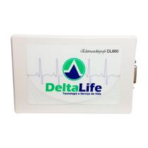Aparelho Veterinário para Eletrocardiograma DL660 USB 6 Precordiais - DELTA LIFE