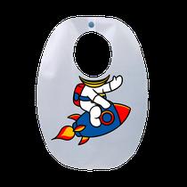Babador Impermeável Infantil Astronauta - FUN WORK