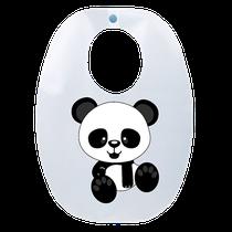 Babador Impermeável Infantil Panda - FUN WORK