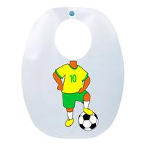 Babador Impermeável Infantil - Jogador Seleção - FUN WORK