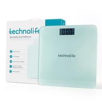 Balança Digital até 180kg Branca - TECHNOLIFE