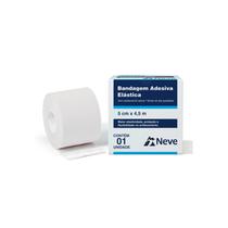 Bandagem Elástica Adesiva 10cm x 4,5m - NEVE