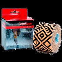 Bandagem Elástica Vital Tape Hyper Elastic Sports 7,5cm x 5m - Bege - FISIOVITAL