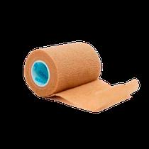 Bandagem Elástica VitalTape Cohesiveban 7,5cm x 4,5m Embalagem Plástica - Bege - FISIOVITAL