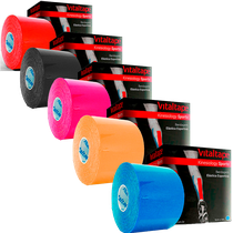 Bandagem Elástica Vital Tape Kinesiology Sports - FISIOVITAL