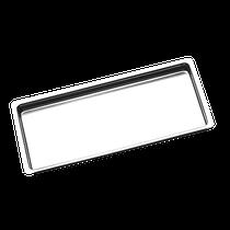 Bandeja Aço Inox Millenium 24 x 18 x 1,5cm