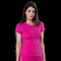Blusa Scrub Feminina Dry Fit - Rosa