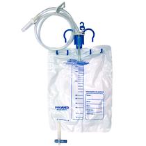 Bolsa Coletora de Urina Sistema Fechado Com Ponto de Coleta 2000ml - LABOR IMPORT