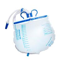 Bolsa Coletora de Urina Sistema Fechado sem Filtro de Ar e com Ponto de Coleta 2000ml - LABOR IMPORT