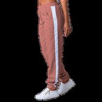 Calça Scrub Feminina Elizabeth Rosê com Branco - NAMASTÊ