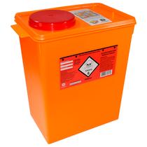 Coletor Plástico Rígido para Resíduos Tóxicos 13L - DESCARPACK
