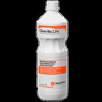 Desinfetante Cloro Rio 2,5% - 1L - RIOQUÍMICA