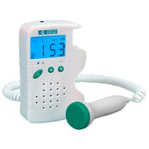 Detector Fetal Portátil Digital com Bateria Recarregável FD200D - MD