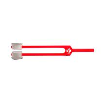 Diapasão Médico MD em Alumínio Vermelho 128 c/ Fixador - MD