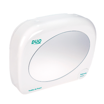 Toalheiro Plástico Duo com Saboneteira e Espelho - BIOVIS
