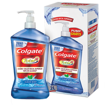 Enxaguante Bucal Colgate Total 12 Clean Mint 2L - COLGATE