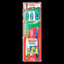 Escova Dental Twister Fresh Ultra Compacta Leve 3 Pague 2