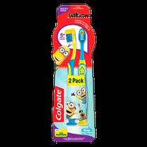 Escova Dental Infantil Minions 6+