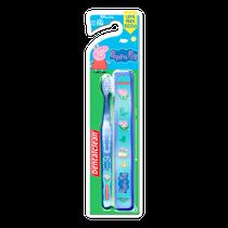 Escova Dental Infantil Peppa Pig c/ estojo