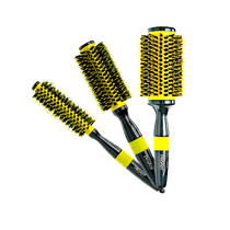 Escova Profissional Thermic Color Amarela