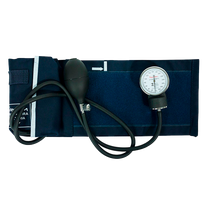 Esfigmomanômetro Aneroide - Azul - PREMIUM
