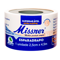 Esparadrapo Impermeável Bege 2,5cm x 4,5m - MISSNER