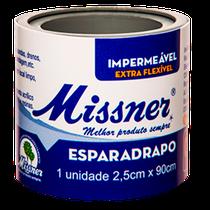 Esparadrapo Impermeável Branco 2,5cm x 0,90m - MISSNER
