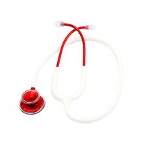 Estetoscópio Acoustica Deluxe Duplo - Red White - MDF
