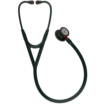Estetoscópio Cardiology IV Preto com Vermelho 6200 - 3M LITTMANN