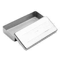 Estojo Millenium Liso Inox - 18 x 07 x 02cm