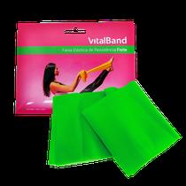 Faixa Elástica de Resistência Forte 15cm x 1,5m - Verde - VITALBAND