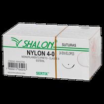 Fio de Sutura Nylon 1/2 Ag. 2,0 cm - Triangular